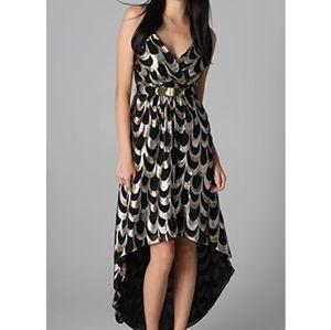 MILLY silk anais disco dress